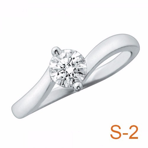 4127576ec048 Anillo Compromiso Diamante Natural .23ct (puntos) Oro14 Kt ...