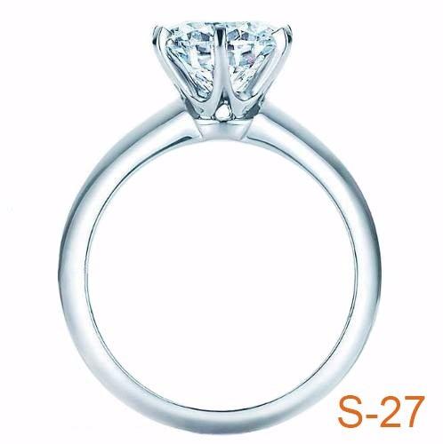 Anillo Compromiso Diamante Natural .23ct (puntos) Oro14 Kt ... fa7688d0df