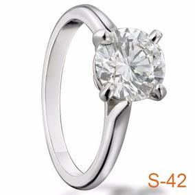 6684d8694ae9 Anillos De Compromiso Diamante 25 Cortes O - Anillos Oro en Mercado ...