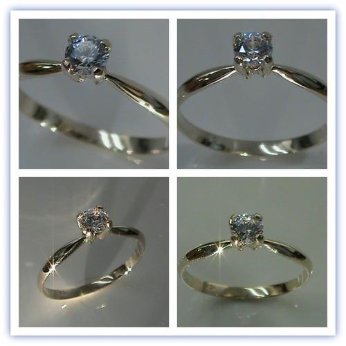 anillo compromiso oro 10kt *imagenes y video reales*