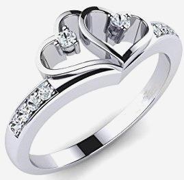 441f2d20bda5 Espectacular Anillo De Compromiso Corte Diamante Tous !!!! - Anillos en  Mercado Libre México