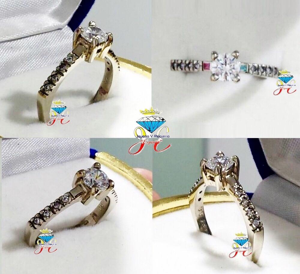 e1325a0b33e4 anillo compromiso oro blanco ley 18k ac 94 jespaña. Cargando zoom.