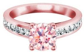 89550c211473 Anillos De Compromiso Oro Rosa Diamante - Joyería en Mercado Libre México