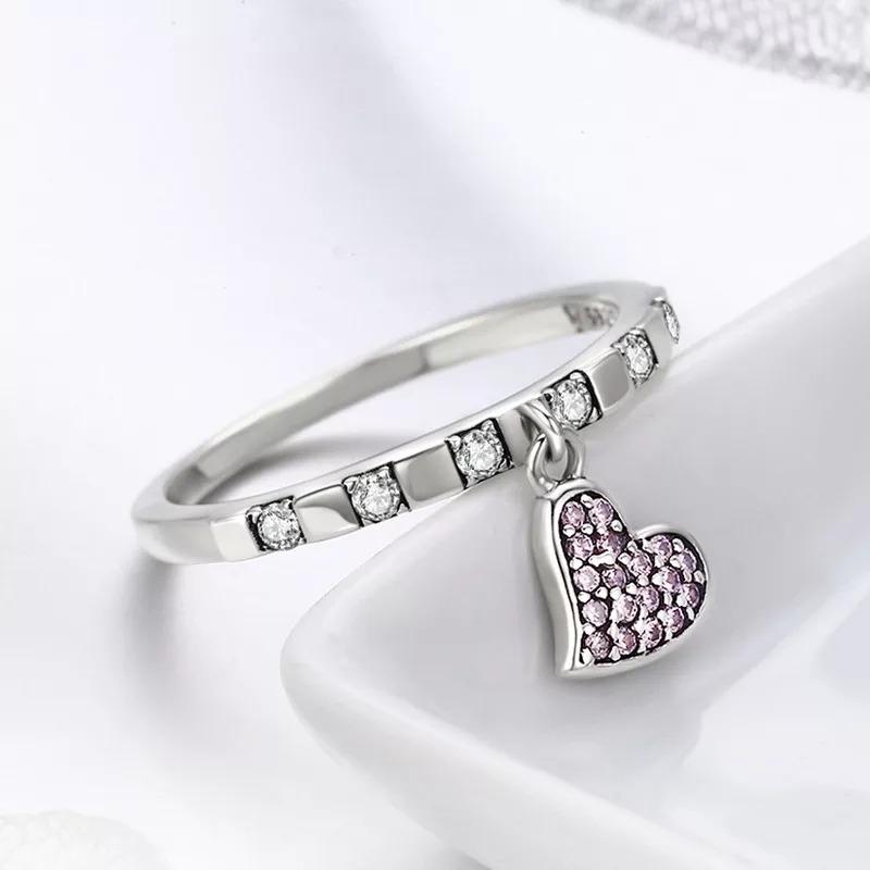64d8b4993b7a anillo compromiso plata 925+caja de terciopelo-regalo mujer. Cargando zoom.