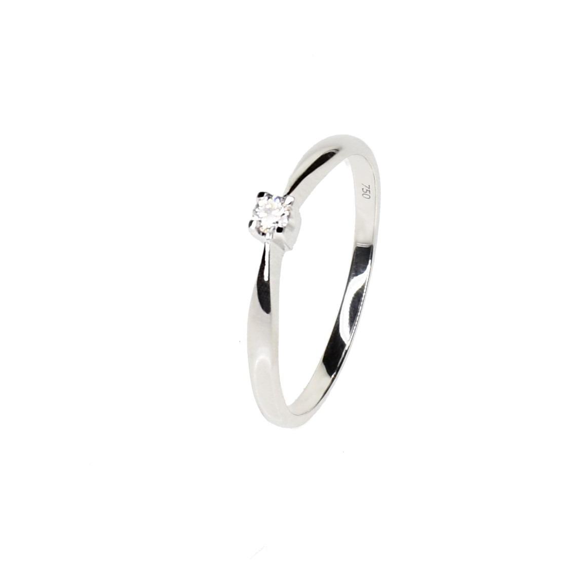 139baae5165f anillo compromiso solitario de diamante oro blanco 18 kts. Cargando zoom.