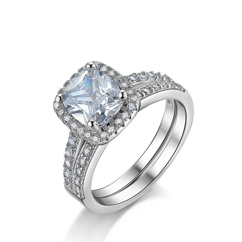 a0ea961543f2 anillo compromiso y churumbela circonias cúbicas amour plata. Cargando zoom.