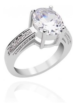 anillo con cristales, ocean heart oh15-273