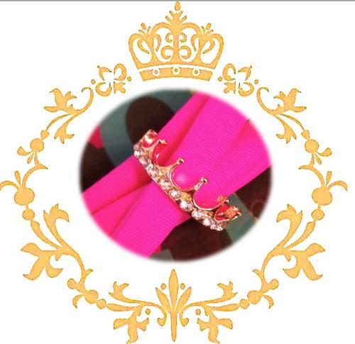 anillo con diseños impactantes para ti corona fashion mujer