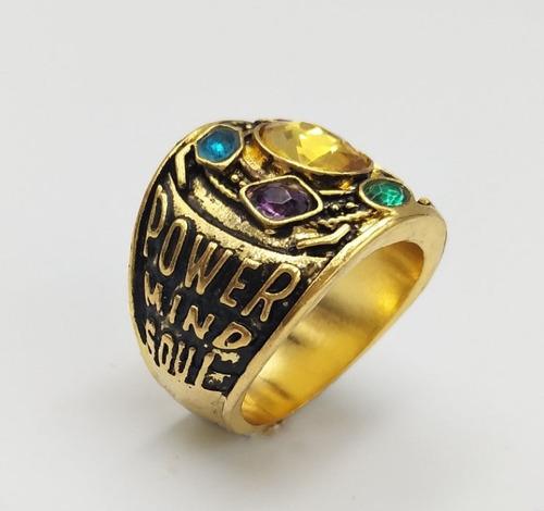 anillo con gemas del infinito thanos infinity war avengers