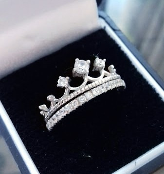 anillo con plata
