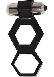 anillo con vibración doble aro para retardar suave flexible