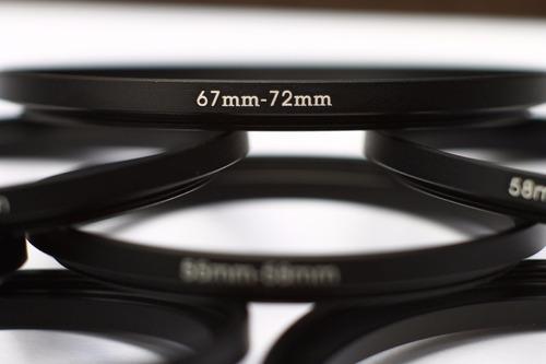 anillo conversor 67  mm a 62  mm