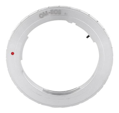 anillo convertidor adatador de olympus a canon om-eos