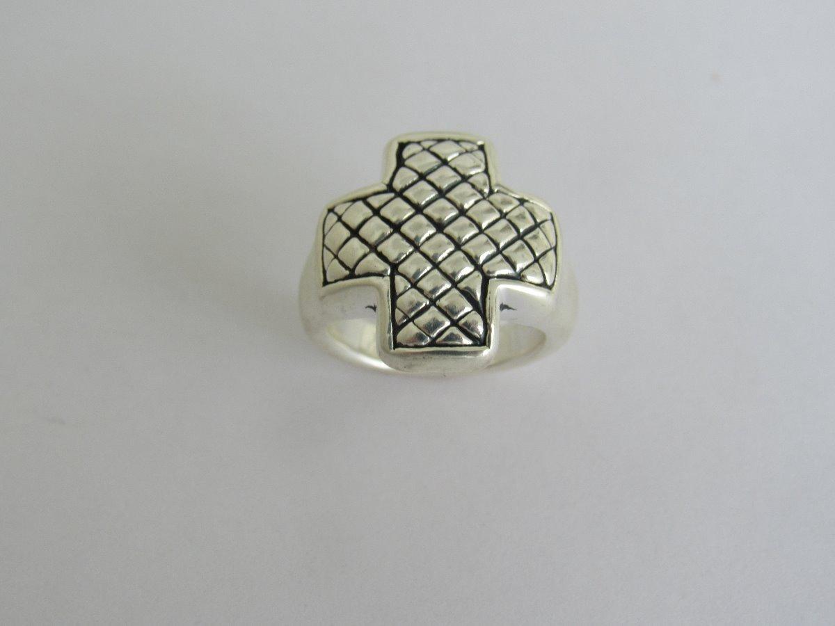aeb874f7249d anillo cruz equilibrio plata 925 (an01). Cargando zoom.