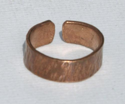 anillo de cobre