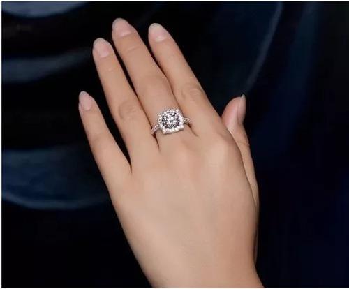 anillo de compromiso bilbao swarov elements regalo