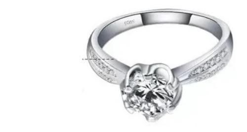 anillo de compromiso brillos swarovs elements, novia