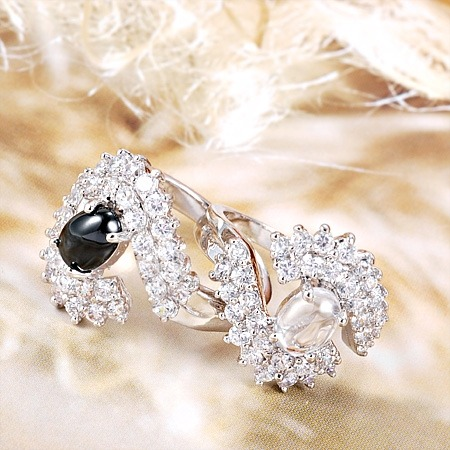 anillo de compromiso de lujo!