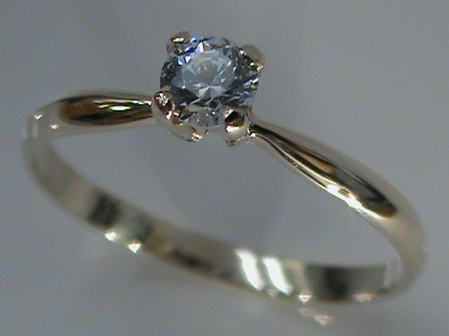 anillo de compromiso en oro 14kt estuche y envio gratis