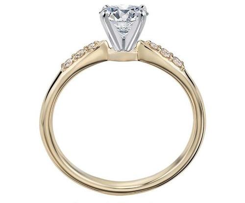 anillo de compromiso en oro de 18kilates-j.vittoriacapricci