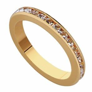 anillo de compromiso en oro laminado-joyas mujer regalo