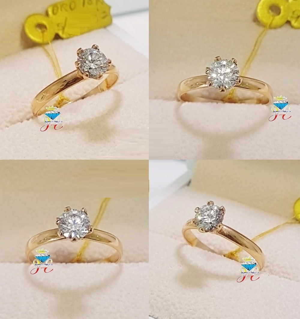 88be78c72040 anillo de compromiso oro 18k brillante suizo jespaña ac 82. Cargando zoom.