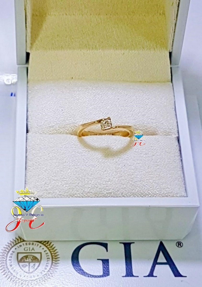 470cc2a3322d Anillo De Compromiso Oro 18k Diamante 20 Pt Gia Ac 134 - U S 1.090 ...