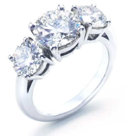 anillo de compromiso oro 18k diamante negro 2,02 cts