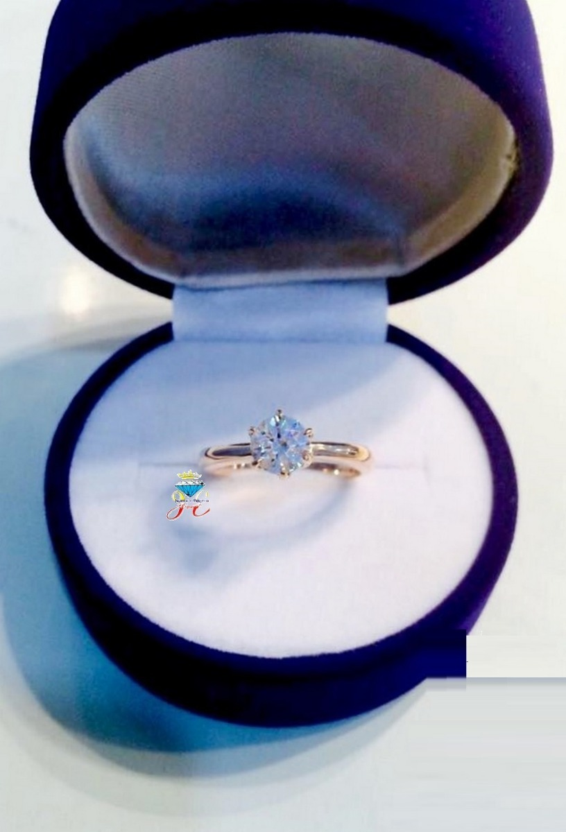 a47734693448 anillo de compromiso oro 21k 18k diamante 0.55 ct gia ac 29. Cargando zoom.