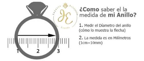 anillo de compromiso oro ley 18k suizo fino ac_135 españa