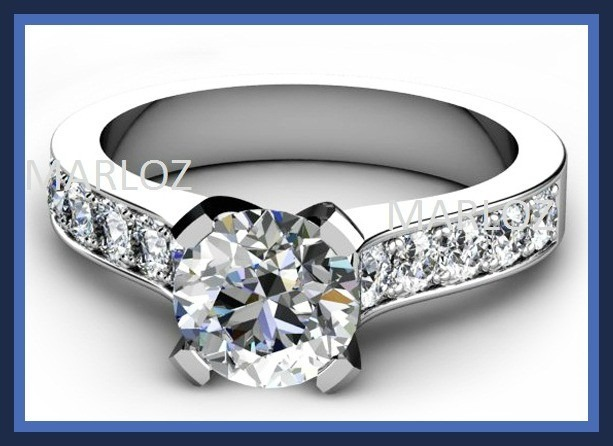 anillo de compromiso oro plata y rodio envio gratis marloz