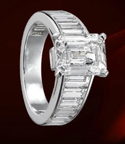 anillo de compromiso plata ley .925 con zirconias m.1