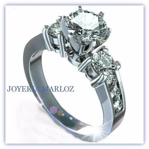 anillo de compromiso plata y oro 14kt envio gratis marloz