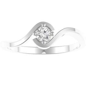 b7c2779d5b05 Vendo Anillo Oro Blanco Con Diamante 12 Puntos Talla 12 - Joyería Anillos  en Mercado Libre Chile