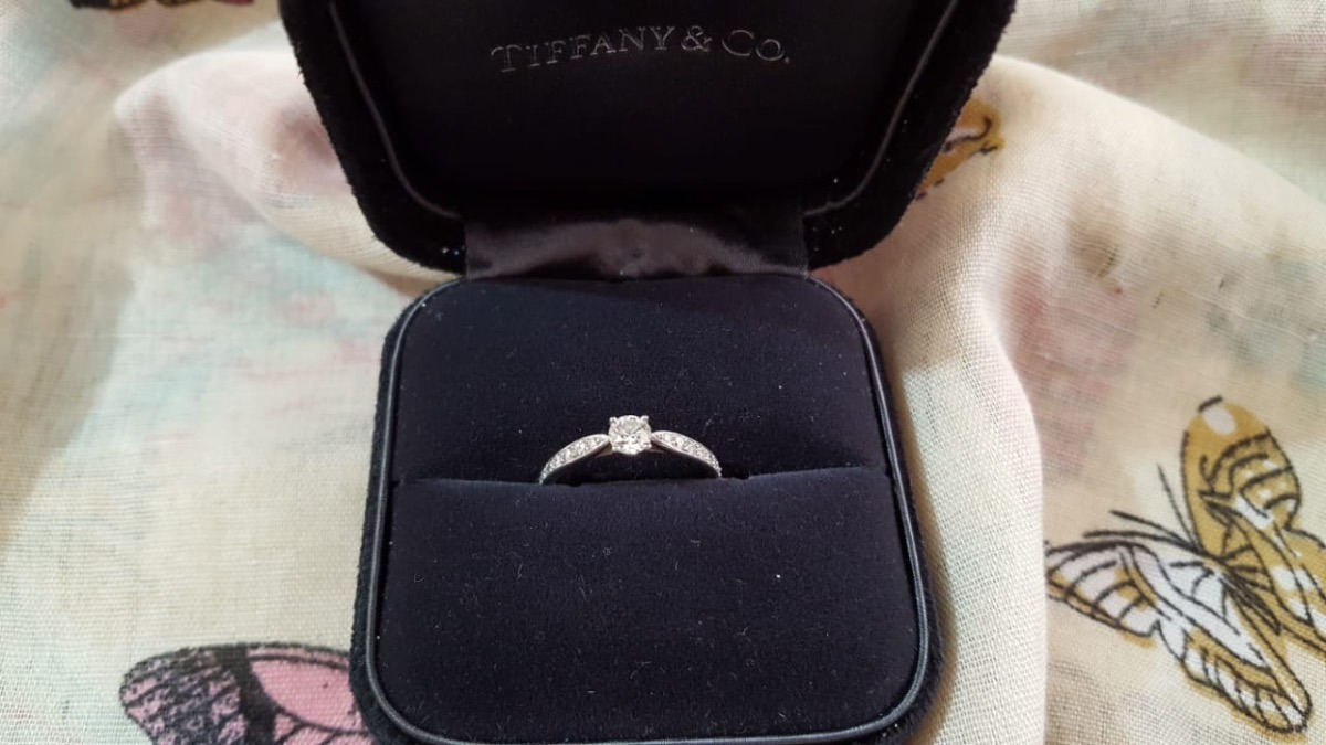 d402c3d3274f anillo de compromiso tiffany and co montadura harmony. Cargando zoom.