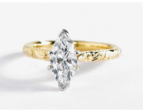 anillo de conpromiso en oro de 18k somos fabricantes directo