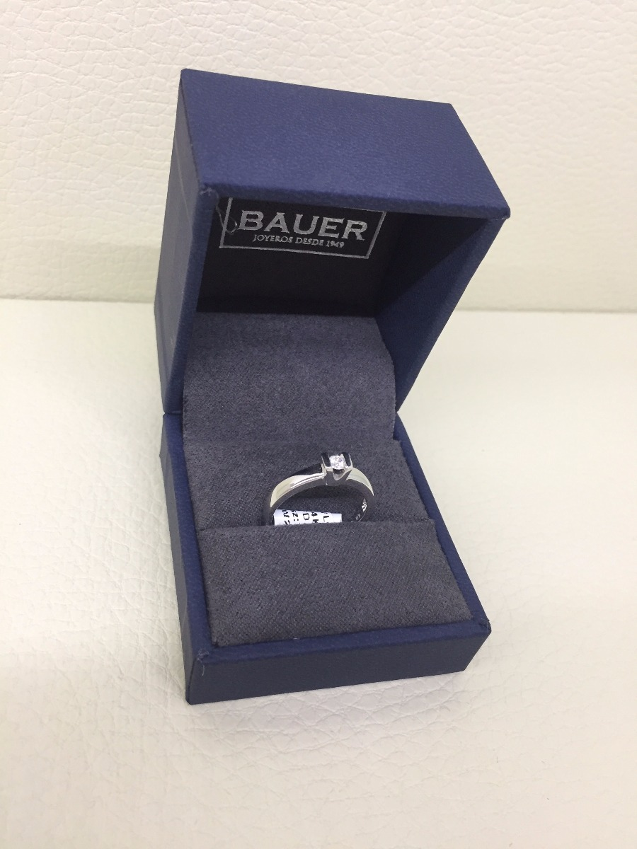 8ad767262928 Anillo De Diamante 10 Puntos Certificado Bauer Joyeros -   9