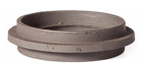 anillo de fundición de hierro de 4 pulgadas macho/macho