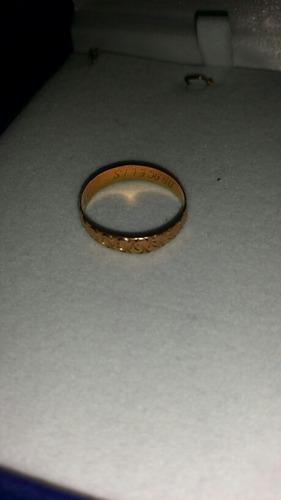 anillo de matrimonio en venta ro 18k pesa 2.3 gramos 100 ver