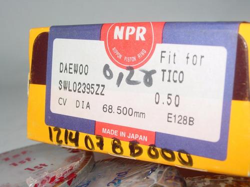 anillo de motor daewoo tico 0.50=0.20
