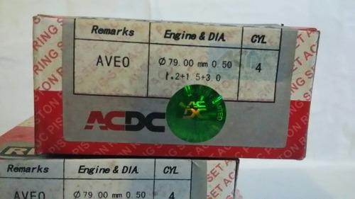anillo de motor  piston 0.50 aveo 1.6.