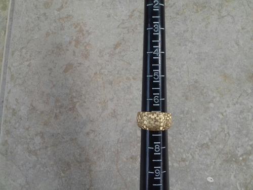 anillo de oro 10 k medida 7 nuevo envío gratis
