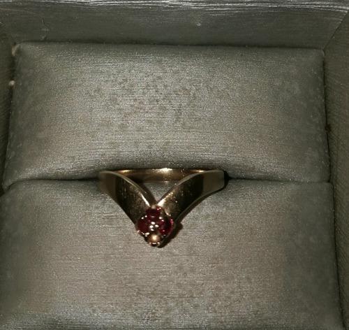 anillo de oro 10k