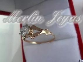 bf9114787834 Anillo Solitario De Oro 2 Gramos - Joyas y Bijouterie en Mercado ...
