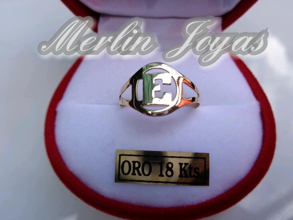 5533f1f54ce8 anillo de oro 18k inicial economico - 2 gramos - m. j. -. Cargando zoom.
