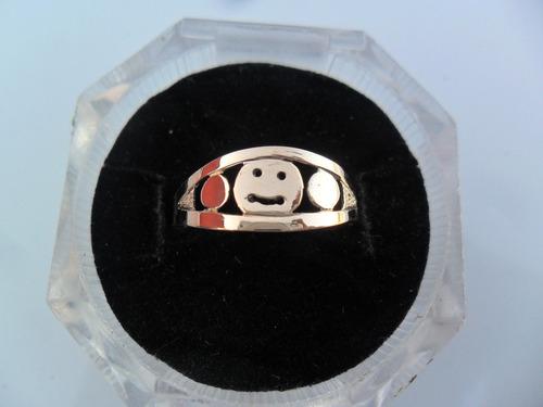 anillo de oro 18k ..super economico