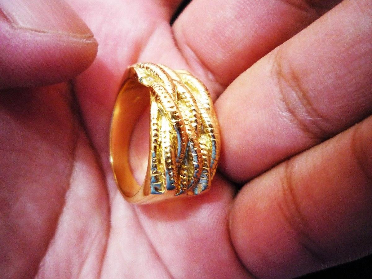e520f907f3da anillo de oro amarillo de 18k para mujer   20gr. Cargando zoom.