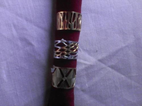 anillo de oro laminado