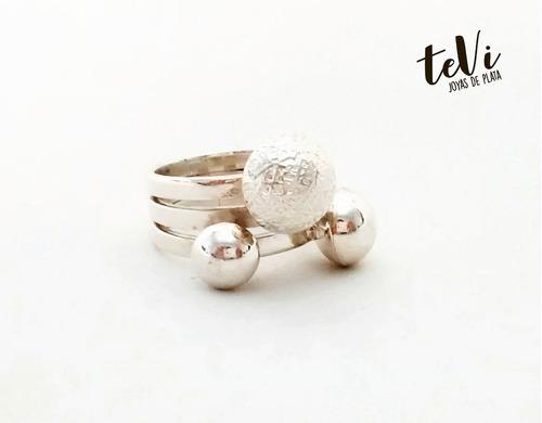 anillo de plata 950 macizo