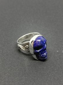 Gran Colgante Lapis Lazuli 20MM Plata 1ª Ley .925 Nuevo.